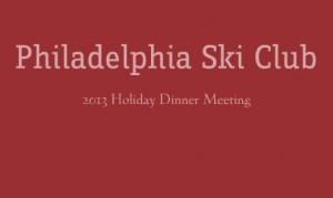 2013 Holiday Dinner Meeting